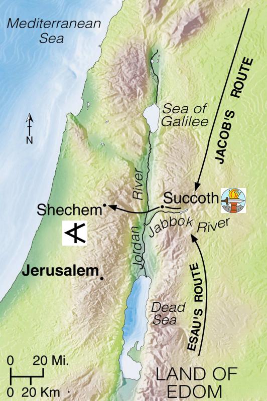 Genesis 34, attack on Shechem, Circumcision, Revenge