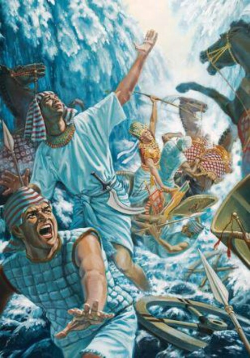 Red sea crossing, Exodus, Bible history, Bible battles, ancient history