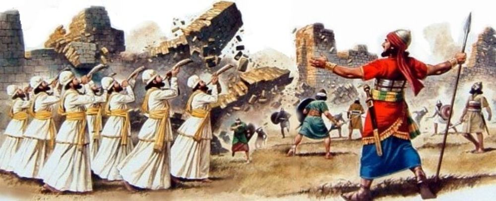 Bible history, military history, Bible battles, Army of God, Battle of Jericho, Joshua