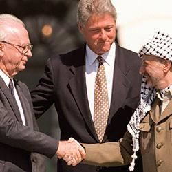 PLO, Yasser Arafat, Yitzahk Rabin, Israel Palestinian peace agreement, Middle East peace treaty, Israeli-Palestinian treaty