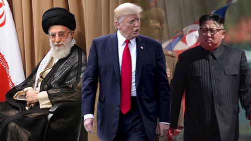 Iran and North Korea, End Times, End of the World, nuclear threat, wars and rumors of wars, Trump, Ali Khamenei, Kim Jong Un