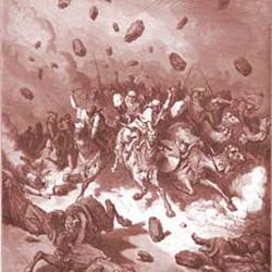 Joshua 10 amorites destroyed SQ