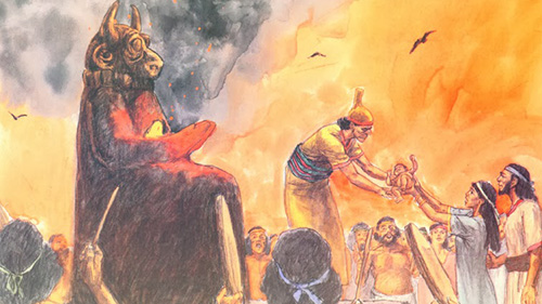 cannanite sacrifice