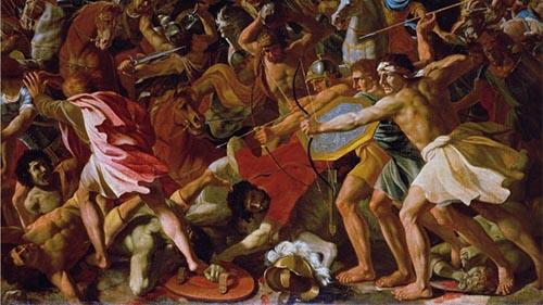 military history, ancient war, military tactics, ancient warfare, Bible battles, Battle of BEZEK, Judges 1, Adoni-Bezek, Judah and Simeon attack Canaanites and Perizzites, Bezek toes cut off