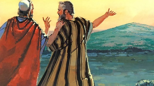 The Book of Judges, Invasion of Canaan; Occupation of the Promised Land, Judges 3