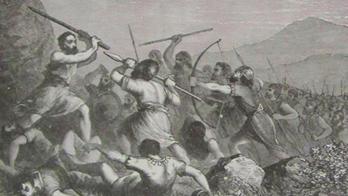 military history, ancient war, military tactics, ancient, Shamgar, Philistines, Canaanites, Judges 3
