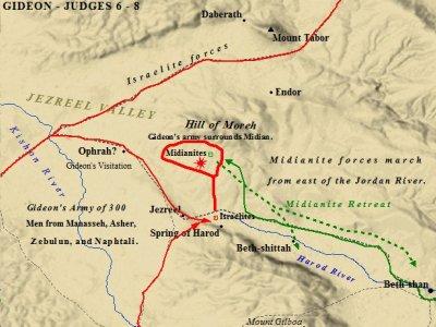 Bible Battles | SPRING of HAROD | Gideon's 300