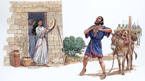 Bible Battles - jephthah's daughter