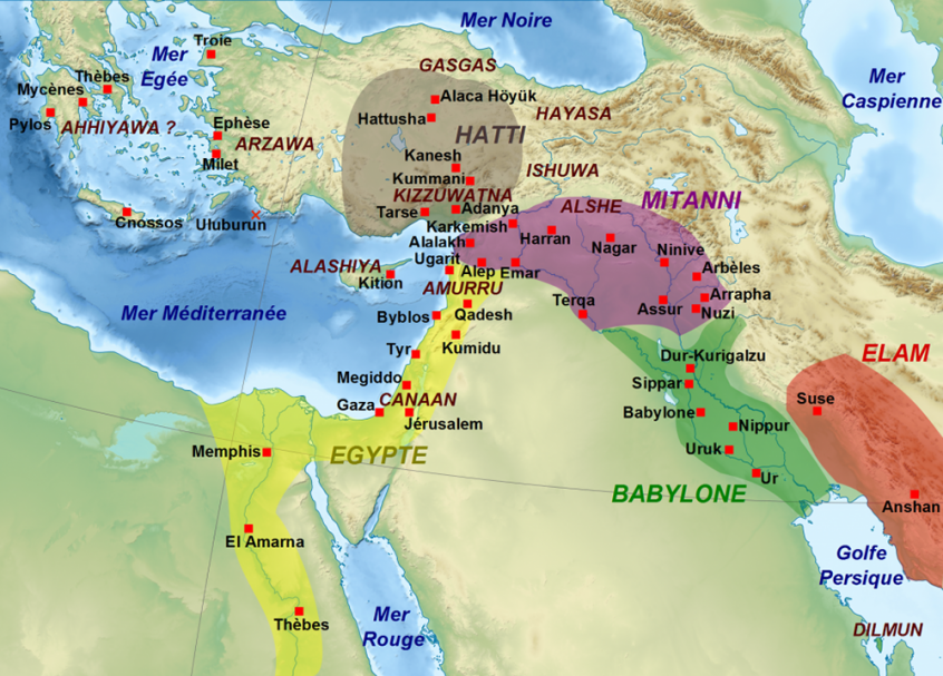 Ancient Middle East map, ancient maps, Biblical maps, early empires